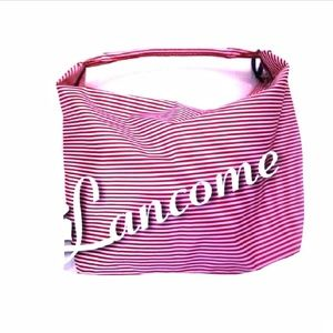 LANCOME Red White Blue Large Tote Bag